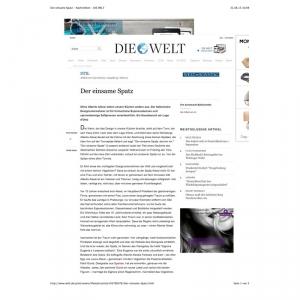 Der einsame Spatz - Nachrichten - DIE WELT