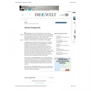 Alessis Designwelt - Nachrichten - DIE WELT
